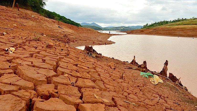 Manque d'eau à SaoPaulo